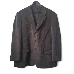 Lineage moores mens brown corduroy sports coat